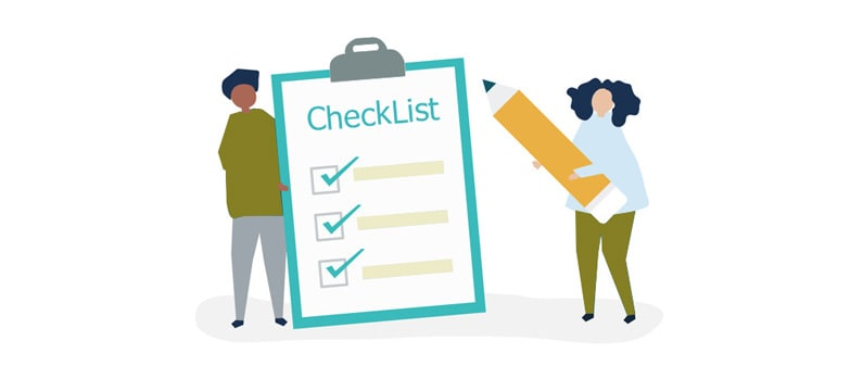 Importance of Checklist